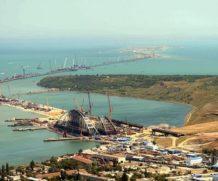 Сборка автомобильной арки для крымского моста завершена