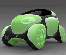 В Токио презентуют автомобиль, сделанный из резины